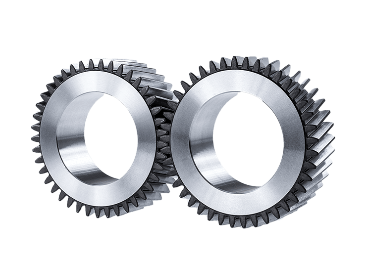 Straight and helical gear wheels