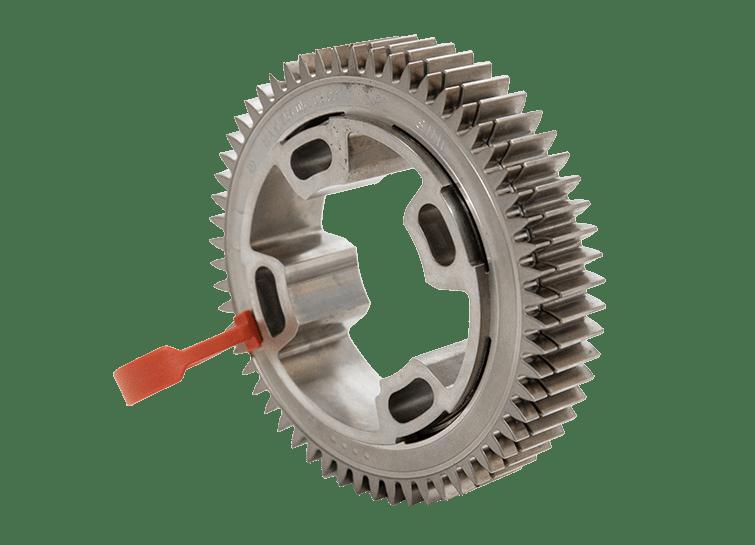 High density gear wheels